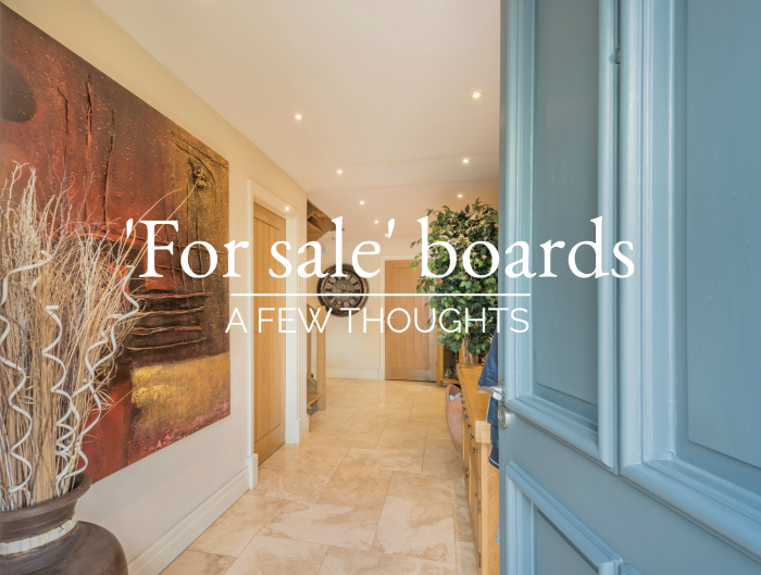 'For sale' boards 2