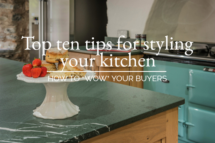 Top ten tips for styling your kitchen