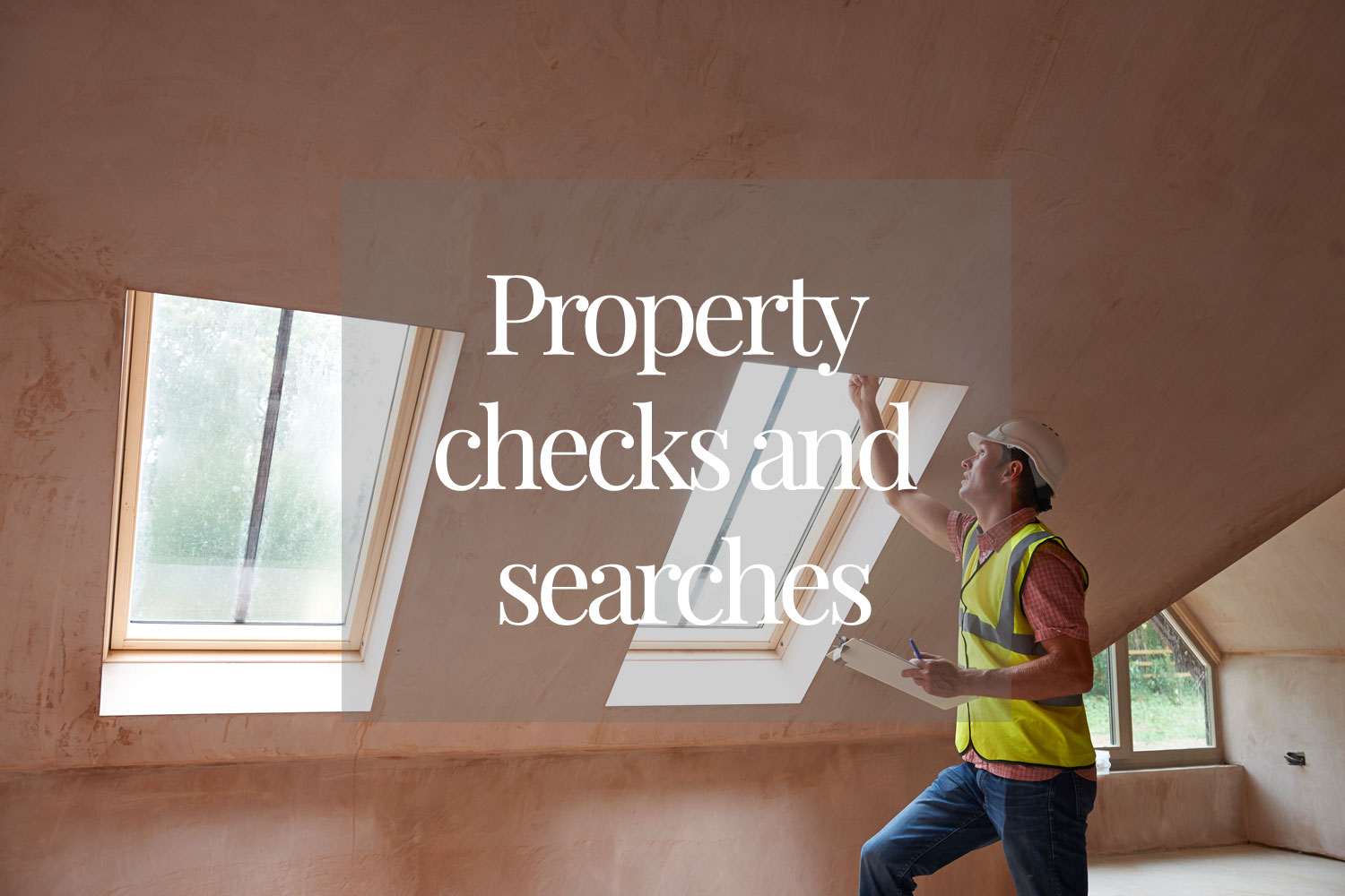 Property checks and searches