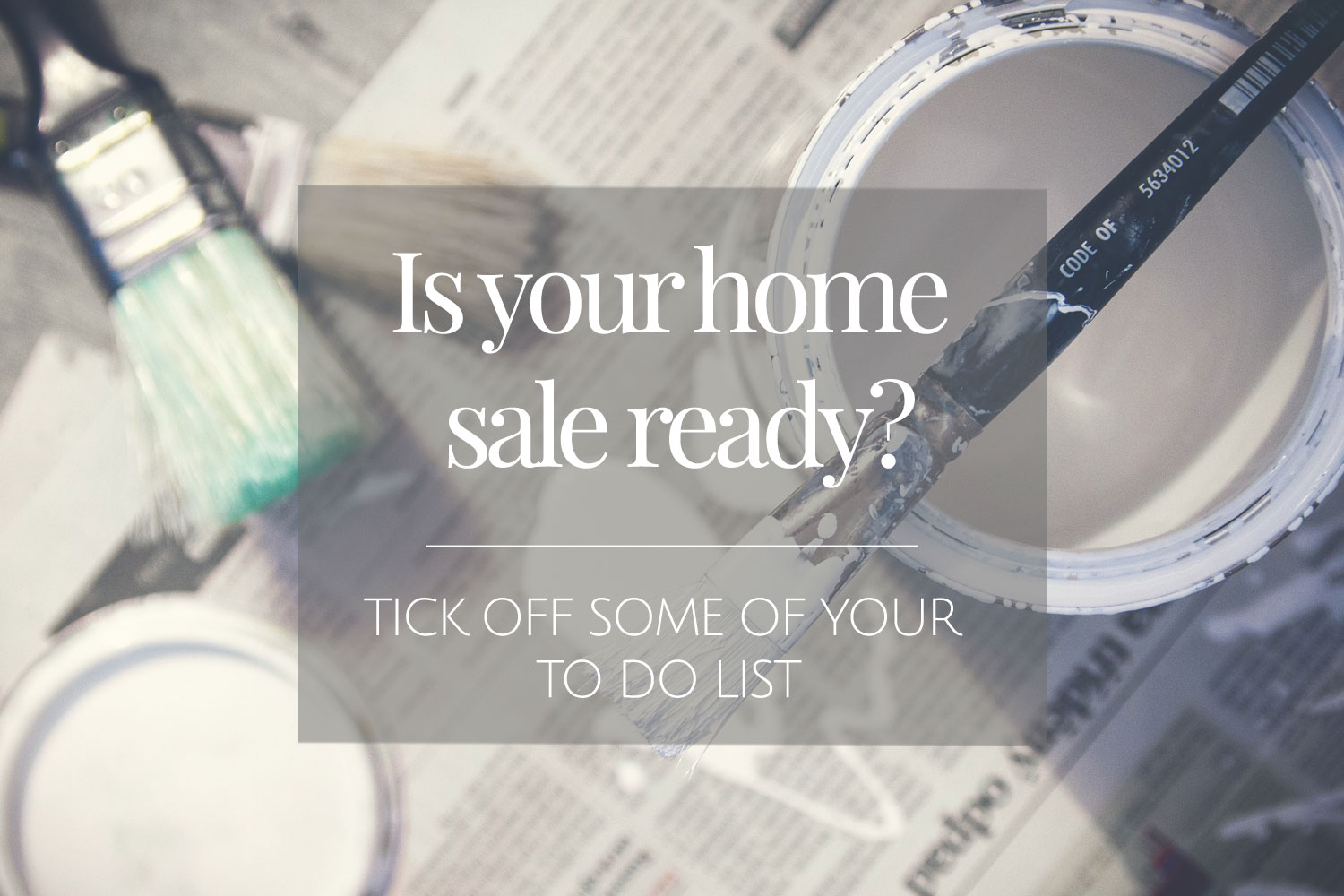 is your home sale ready