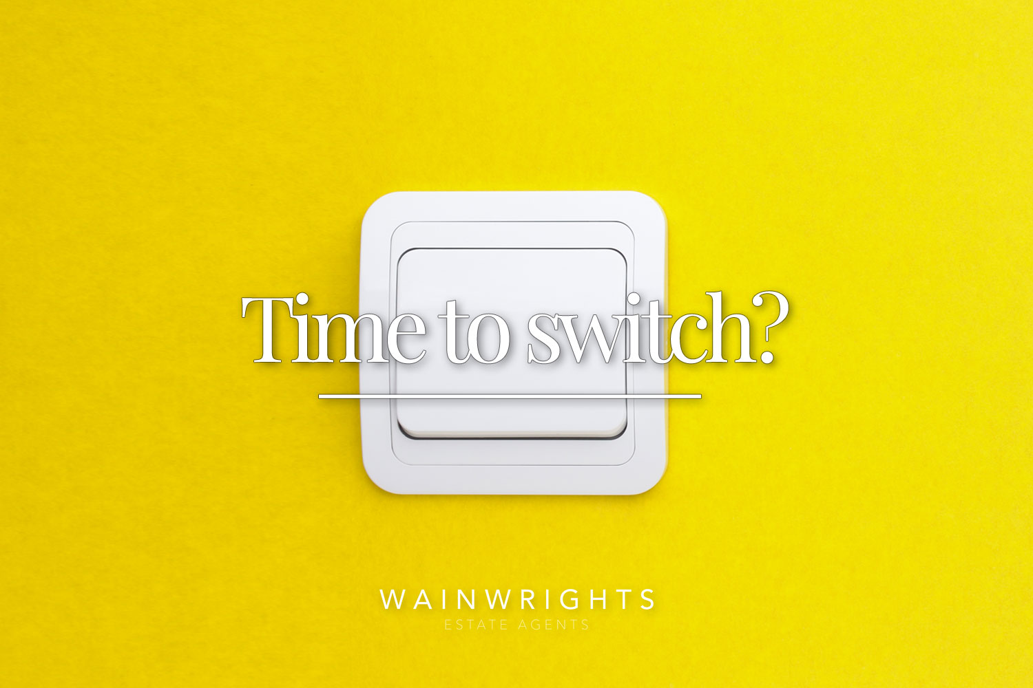 time to switch